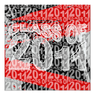 Class Of 2011 Graduation Invitation TXD296
