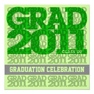 Class Of 2011 Graduation Party Invitation 03D
