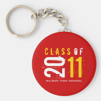 Class of 2011 Key-Chain (red) Keychain