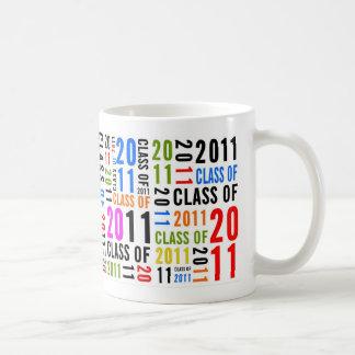 Class Of 2011 Multicolor Mug