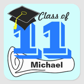 Class of 2011 Sticker Cap Diploma 2