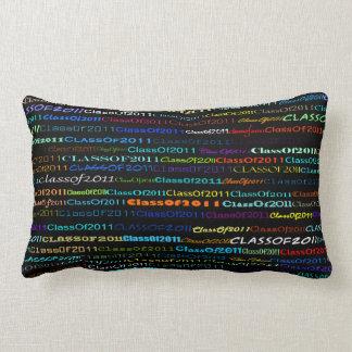 Class Of 2011 Text Design I Lumbar Pillow