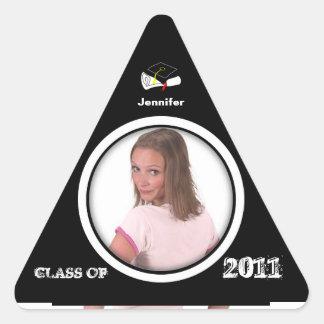 Class of 2011 Triangle Sticker Add Photo 1
