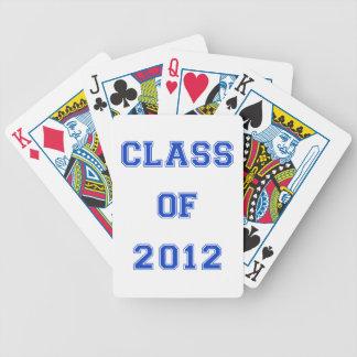 Class of 2012 - Blue Poker Deck