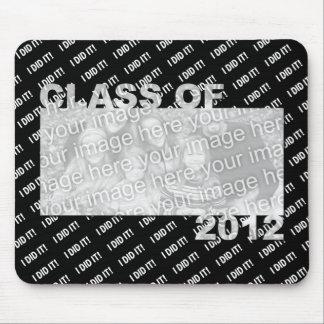 Class of 2012 Cut Out Photo Frame - I Did It Mouse Pad