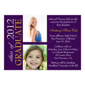 Class of 2012 Graduate Announcement