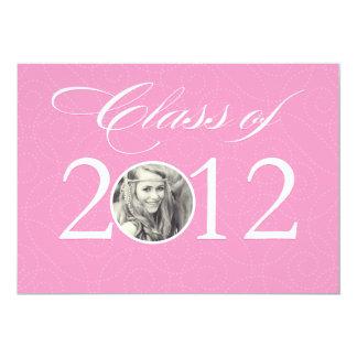"Class of 2012 | Graduation 5"" X 7"" Invitation Card"