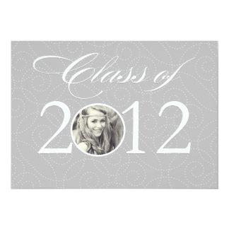 "Class of 2012   Graduation 5"" X 7"" Invitation Card"