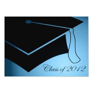 "class of 2012 graduation cap 5"" x 7"" invitation card"
