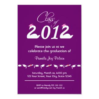 "Class of 2012 Graduation Celebration 5"" X 7"" Invitation Card"