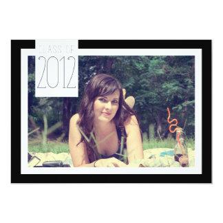 "Class of 2012 - Graduation Celebration 5"" X 7"" Invitation Card"