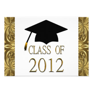 Class Of 2012 Graduation Party Invitations