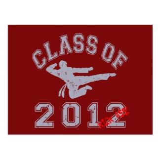 Class Of 2012 Kick-Ass - Grey 2 D Postcard