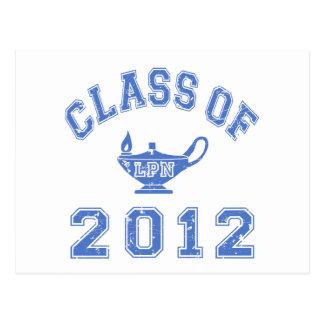 Class Of 2012 (LPN) Postcard