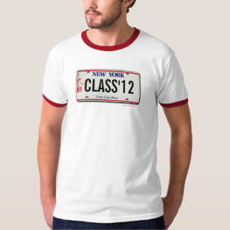 Class of 2012 NY License Plate Graduation T-Shirt