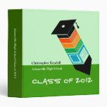 Class of 2012 Pencil Graduation Binder Green