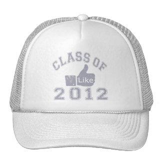 Class Of 2012 Thumbs Up Grey Trucker Hat