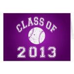 Class Of 2013 Baseball - White