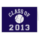 Class Of 2013 Baseball - White Card