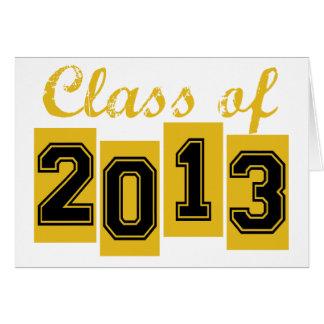 Class of 2013 card