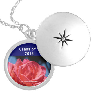 Class of 2013 Custom Class Color Round Locket Necklace