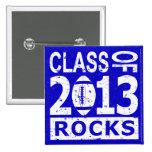 Class Of 2013 Graduation 2 Inch Square Button