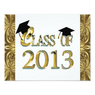 "Class Of 2013 Graduation Party Invitations 4.25"" X 5.5"" Invitation Card"