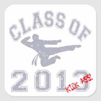 Class Of 2013 Kick-ASS Stickers