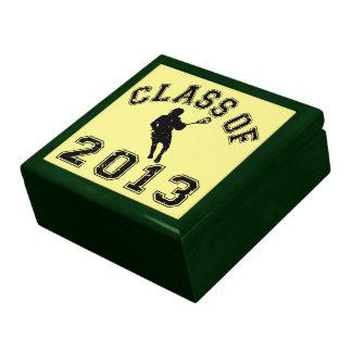 Class Of 2013 Lacrosse Keepsake Boxes