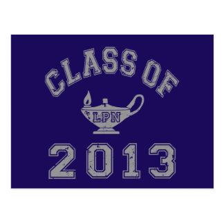 Class of 2013 LPN - Grey 2 Postcards