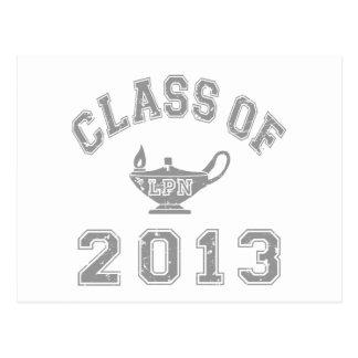 Class of 2013 LPN - Grey 2 Postcard