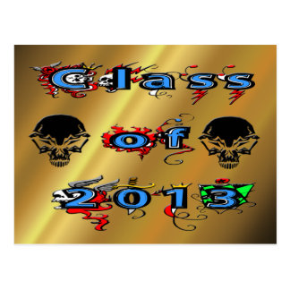 Class of 2013 - Skulls Postcard