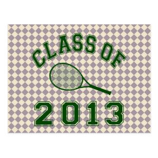 Class Of 2013 Tennis Postcard