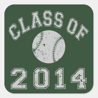 Class Of 2014 Baseball Sticker