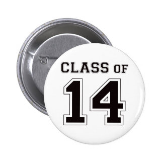 Class of 2014 - Black 2 Inch Round Button