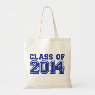 Class of 2014 budget tote bag
