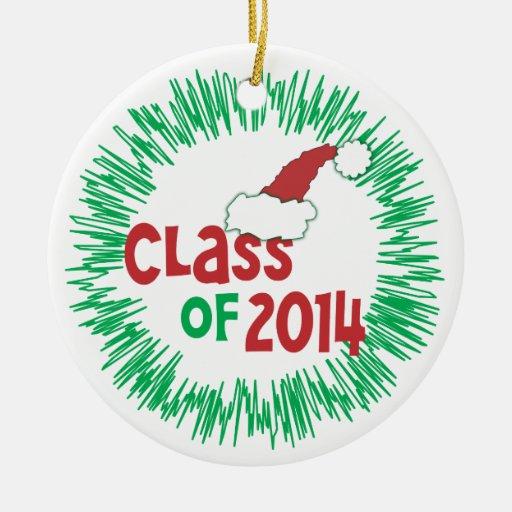 Class of 2014 Christmas Holiday Christmas Tree Ornaments