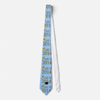 Class Of 2014 Gold, Blue, Any Color Graduation Tie