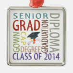 Class of 2014 Graduation Christmas Ornaments