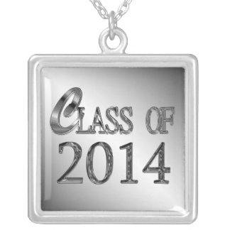 Class Of 2014 Graduation Necklace