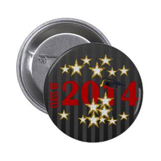 Class of 2014 Graduation Pin-back Button Pinback Buttons