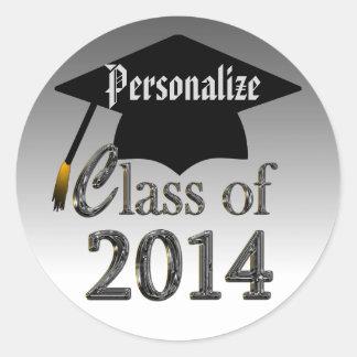 Class Of 2014 Graduation Stickers Seals