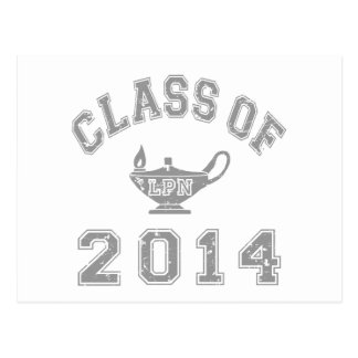 Class Of 2014 LPN - Grey 2 Post Cards