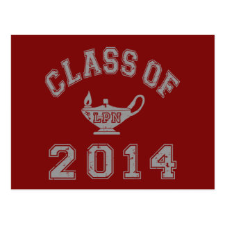 Class Of 2014 LPN - Grey 2 Postcards