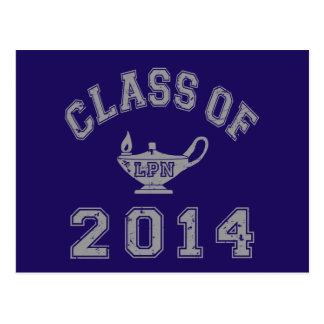 Class Of 2014 LPN - Grey 2 Post Card