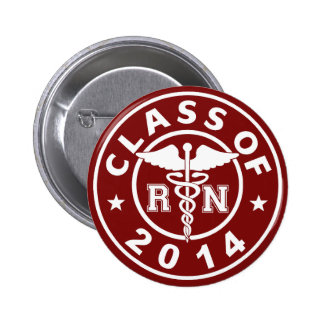 Class Of 2014 RN 2 Inch Round Button