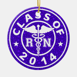 Class Of 2014 RN Ceramic Ornament