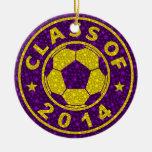 Class Of 2014 Soccer Christmas Ornament