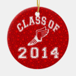 Class Of 2014 Track and Field Ornament