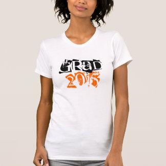 Class of 2015 grad grunge text graduation T-Shirt